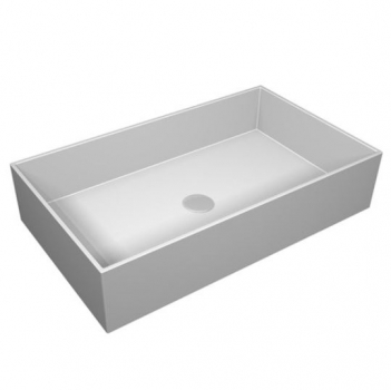GSG Ceramic Design Box Waschbecken 60 cm Crystal-Tech