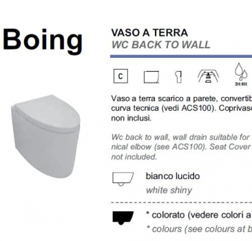 GSG Ceramic Design Boing Stand-WC Toilette Standmontage