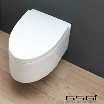 GSG Ceramic Design Boing Wand-WC Toilette Wandmontage